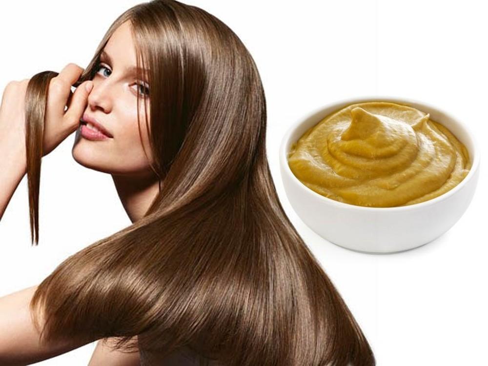 Ускоряем рост волос с помощью горчичной маски