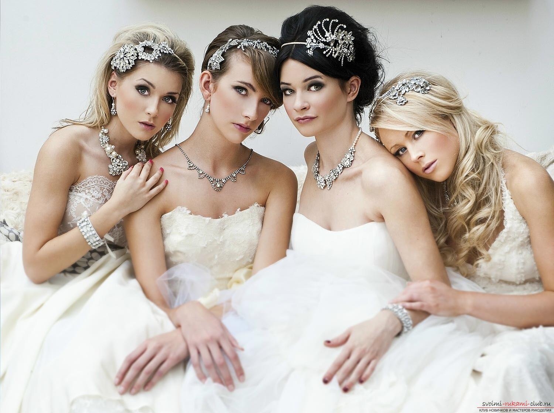 Модные свадебные аксессуары для волос