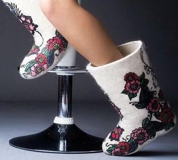 Модные валенки – тренд зимы