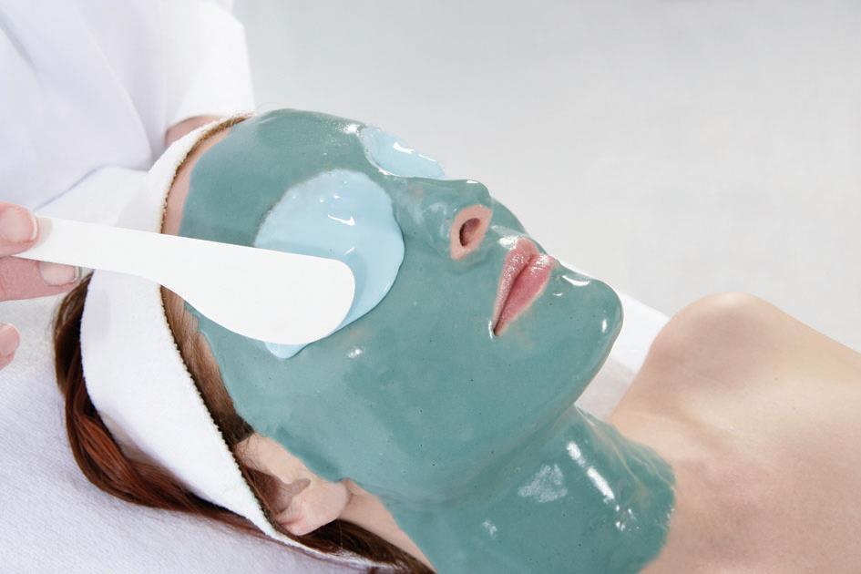 Криогенная маска с Спирулином